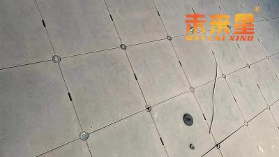 了解了这些,小白也能安装硫酸钙防静电地板