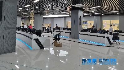 这样的陶瓷防静电架空地板,太适合机房了!