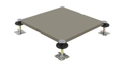 新型GRC无机质水泥网络地板的特点