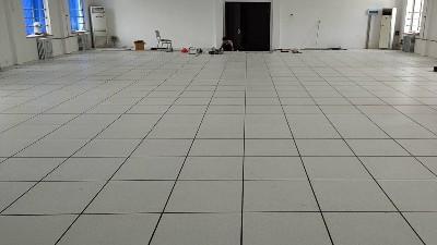 宝鸡HPL防静电地板1800平方签约过程