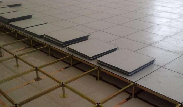 防静电地板施工图