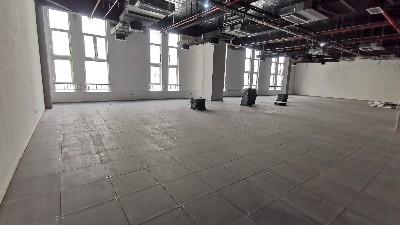 写字楼可不可以装全钢防静电地板?