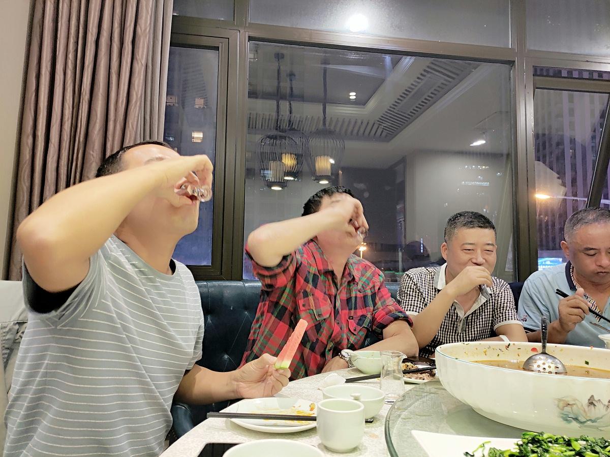 西安未来星地板有限公司员工聚餐照片2