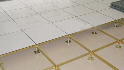 未来星分享机房防静电地板安装的注意事项