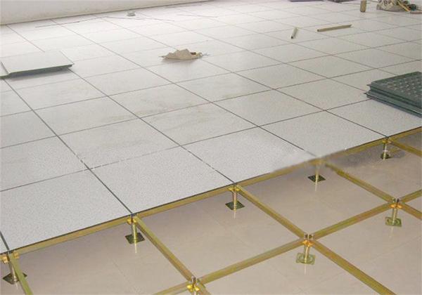 机房防静电地板安装