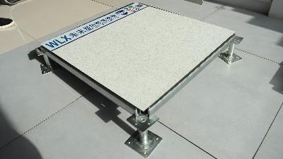 地铁站监控机房也选了西安未来星HPL全钢防静电地板