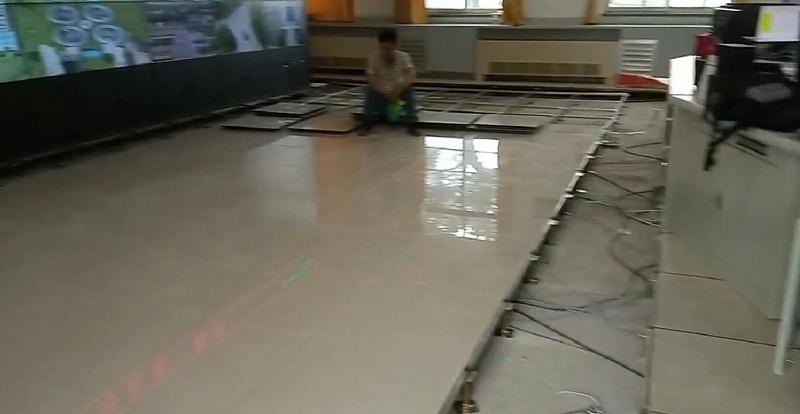 象牙白陶瓷架空活动地板