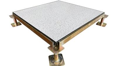 全钢架空防静电地板的填充物之发泡水泥的功能