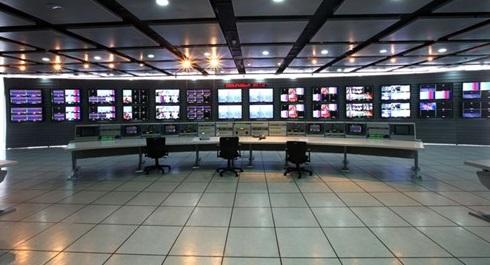 机房防静电架空地板效果图