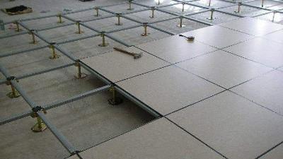 为什么厂家不建议使用非标全钢防静电地板?
