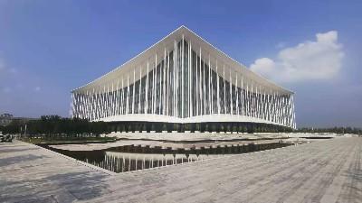 西安国际会展中心项目-全钢PVC架空活动地板