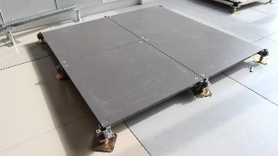 西安高新写字楼全钢架空OA网络地板施工流程