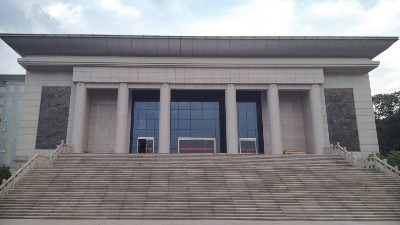 临潼新丰部队438平方陶瓷防静电地板完工