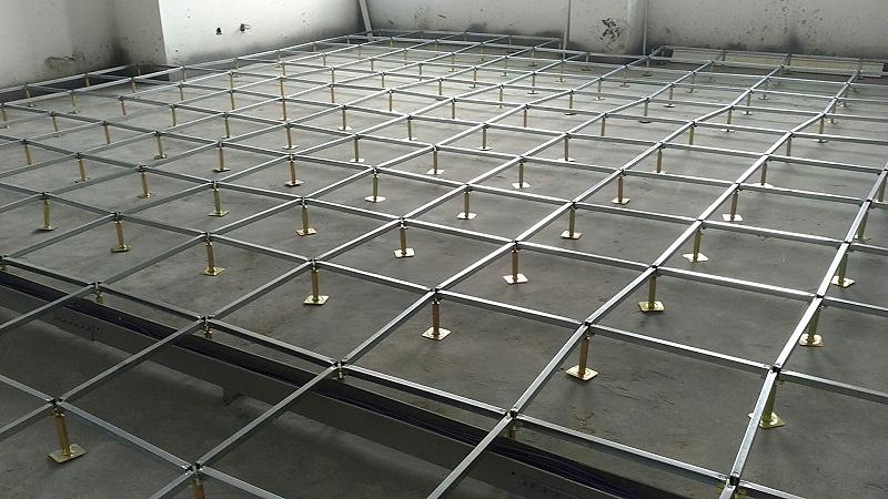 机房防静电地板施工图