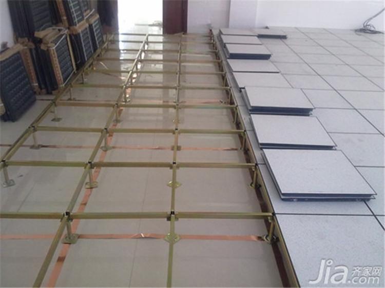 未来星全铝防静电地板