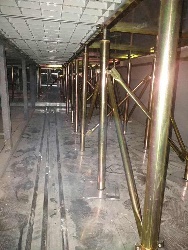 防静电高架地板安装方式