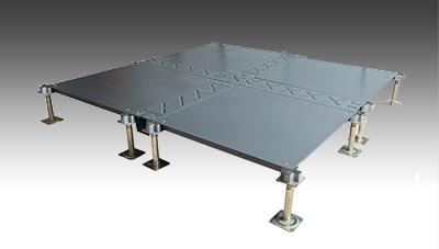 全钢扣槽式网络地板