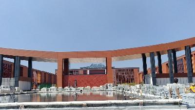 未来星陶瓷防静电地板助力神木第一高级中学