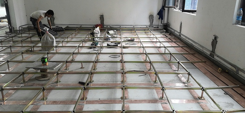 PVC防静电地板接地